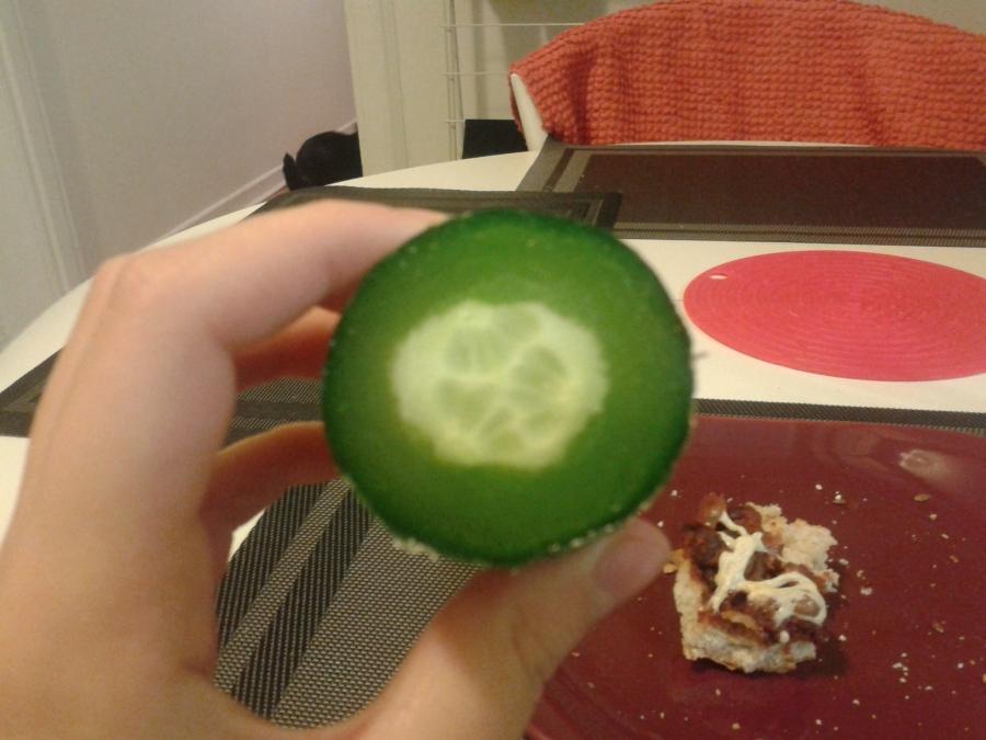 Concombre défectueux
