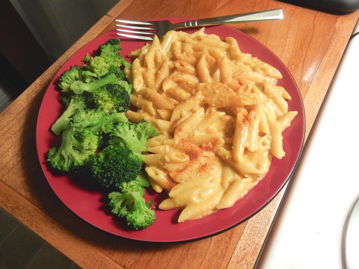Mac n' cheese végétalien