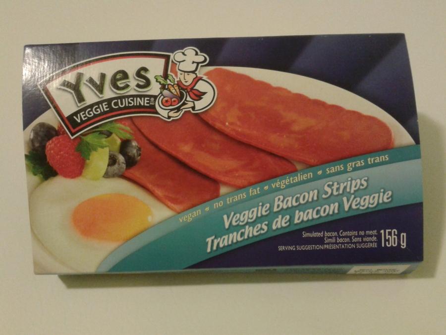 """Quand même un peu """"drôle"""" de voir un œuf sur l'emballage d'un produit végétalien..."""
