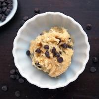 Pour manger de la pâte à biscuit (presque) sans culpabilité