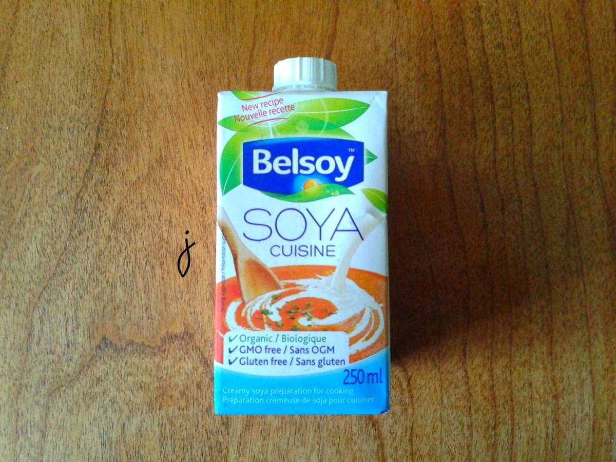 J'ai testé : la crème végétale de Belsoy