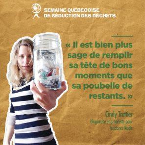 Cindy Trottier, blogueuse pour Tendance Radis