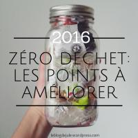 Zéro déchet : les points à améliorer en 2016