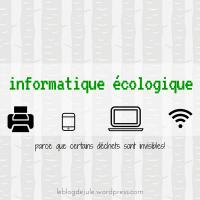 Informatique écologique