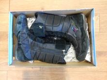 Mes anciennes bottes d'hiver.