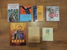 Des livres.