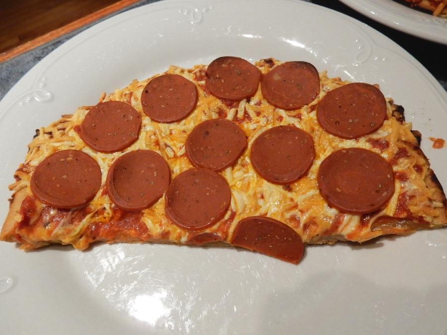 Présentation pizza