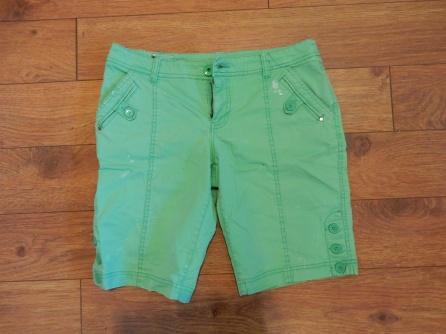 Shorts verts