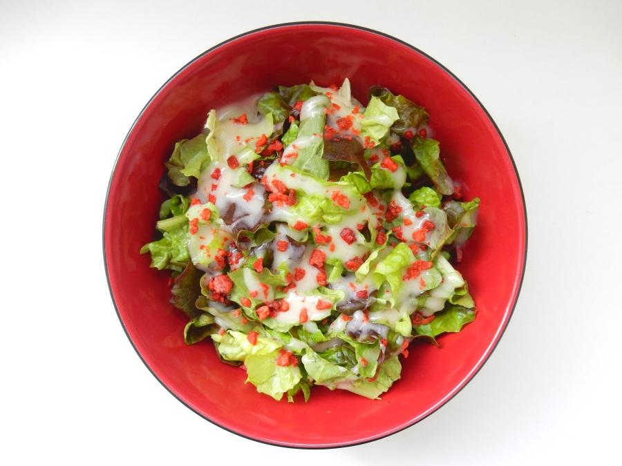 Présentation - salade césar