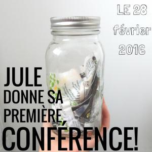 Conférence au Centre communutaire de Loisir de la Côte-des-Neiges (28 février 2016)