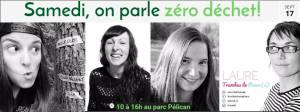 Table zéro déchet à l'Écotête de l'Arrondissement Rosemont - La-Petite-Patrie.